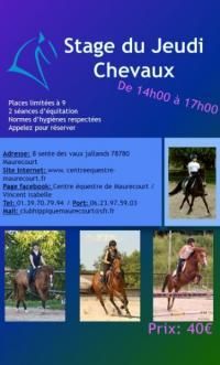 Nouvelle organisation en vue du Covid 19 au Centre équestre de Maurecourt